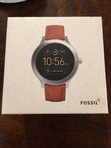 Fossil Gen 3 Smartwatch Q Venture Luggage Leather - FTW6007