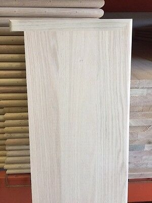 Solid Red Oak Wood Stair Treads 1 Thick X 11 1 2 Width 36 42   Red Oak Stair Treads And Risers   Wooden Stairs   Wood Stair   Hardwood Floors   Railing   Stair Parts