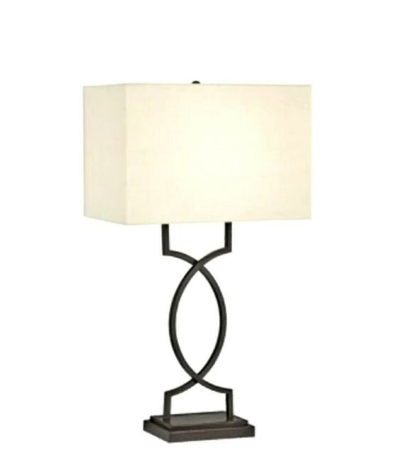 pacific coast lighting 87 6576 20 central loft 1 light table lamp bronze with