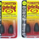 (4) Packs Strike King Tungsten Bullet Weights Tour Grade Insert Free 1/2 Oz New