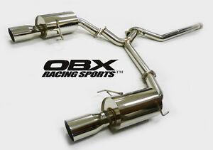 details about obx catback exhaust fit 2005 2006 2007 subaru legacy 2 5l gt wagon