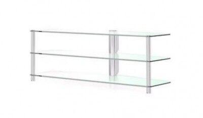 Spectral Panel pl282 Al SNG TV/HiFi Rack, Aluminum/White Glass eBay