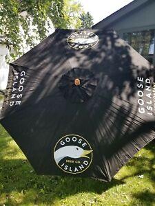 details about l k goose island beer duck outdoor patio deck umbrella bar restaurant chicago