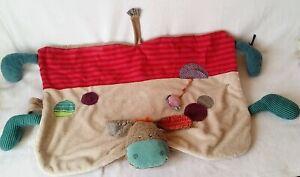 details sur couverture tapis doudou ane les jolis pas beaux jouet eveil bebe moulin roty