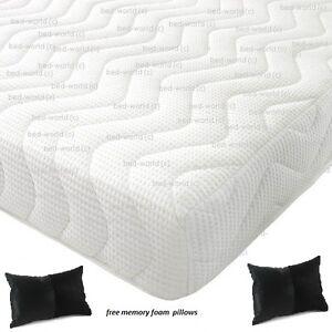 Image Is Loading Reflex Memory All Foam Mattress 5 1 Free