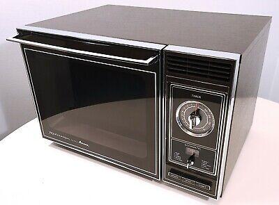 amana radarange 1983 vintage microwave oven rrl 7c works great see video ebay