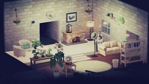 Animal Crossing New Horizons White Living Room Furniture ... on Animal Crossing Living Room Ideas New Horizons  id=15050