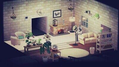 Animal Crossing New Horizons White Living Room Furniture ... on New Horizons Living Room  id=14109