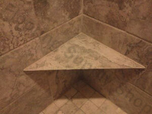 details about ez seat waterproof corner shower bench 16 x 16 x 22 ready to tile made in usa