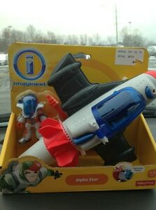 fisher price imaginext space Ship Alien Alpha Star New ...
