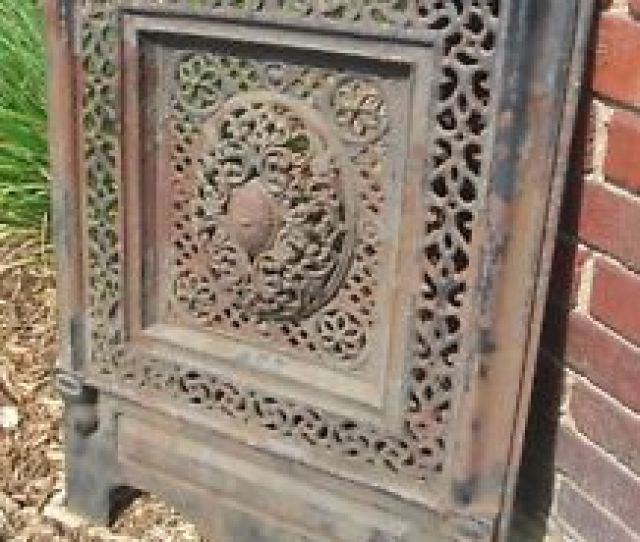 Image Is Loading Antique Cast Iron Fireplace Summer Cover