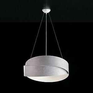 I lampadari moderni per la cucina e il soggiorno sono perfetti se desideriamo uno stile semplice ma allo stesso tempo d'impatto. Lampadario Moderno Effetto Cemento Grigio Bianco Fasce Lucido Salone Cucina Sala Ebay