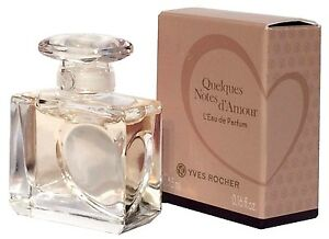 YVES ROCHER QUELQUES NOTES D´AMOUR 5 ml EDP Woman Mini ...
