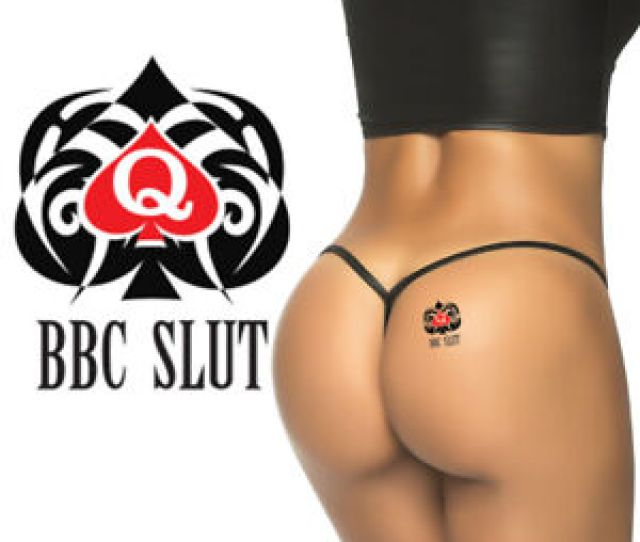 Image Is Loading Sexy 034 Bbc Slut 034 Temporary Tattoos Queen