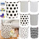 Foldable Laundry Hamper Basket Organizing Baby Clothes Toys Color Triangle For Sale Online Ebay