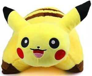 details about pokemon pikachu pillow 16 inch pet monster plush toy