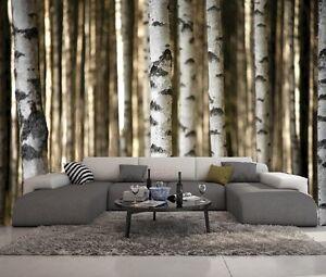 details sur papier peint 3d trompe l oeil moderne photo murale 3d nature 012