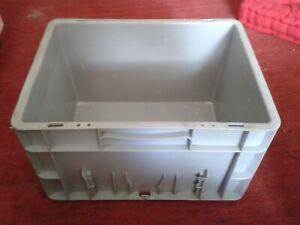details sur allibert caisses rangement stockage bac manutention bac plastique gerbable