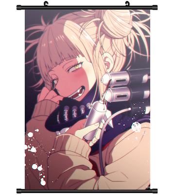 4430 boku no hero academia toga himiko anime home decor poster wall scroll ebay