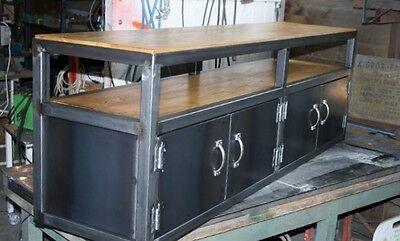 meuble tv meuble industriel industriel loft tendance vintage ebay