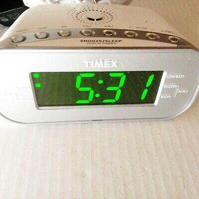 Display Alarm Clock Radio W Aux Port
