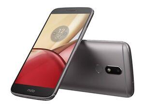 "Motorola Moto M XT1663 32GB Dual Sim (FACTORY UNLOCKED) 5.5"" Silver Gold Gray"