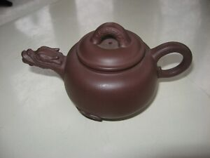 Yixing Teapot Dragon Spout