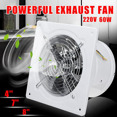 4 7 8 high speed exhaust fan ventilation extractor for kitchen bathroom office ebay