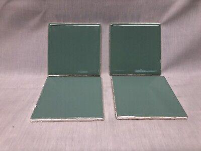 vintage seafoam green ceramic tile 4 1 4 x 4 1 4 ina seito japan 5 tiles ebay