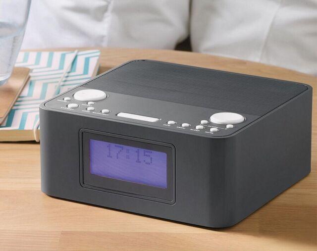 Tesco Dab Clock Radio Dcr1701 Dark Grey