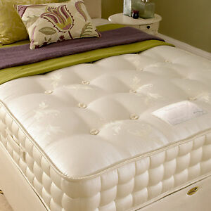 Image Is Loading New Deluxe Beds Nicole 2000 Pocket Sprung Mattress