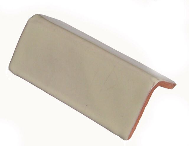 off white v cap tile molding bullnose