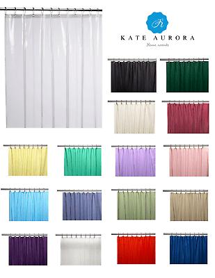 hotel resistente de vinilo calibre 10 forros de cortina de ducha varios colores y tamanos ebay