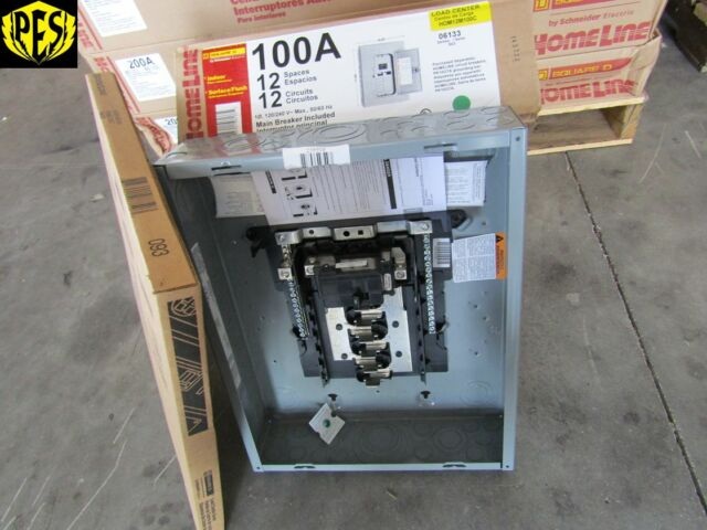 Buy Square D HOM12M100C Homeline 100 Amp 12-space 12