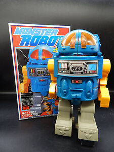 vintage Horikawa Japan MONSTER ROBOT battery operated toy ...