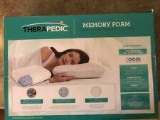 therapedic classic contour bed pillow