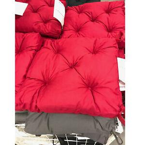 Arredare il giardino con ikea! Ikea Cuscino Per Sedia Morbido Circa 40x35 Cm 7cm Spesso Nuovo Rosso Ebay