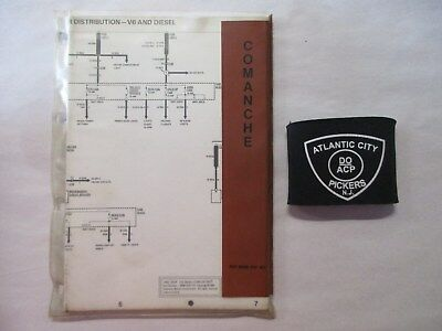 1986 jeep comanche 60 series electrical wiring diagrams 8980 010 161   ebay