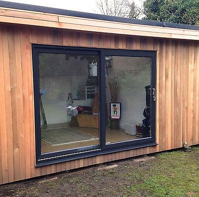 black upvc sliding patio door 2300mm 2399mm wide ebay