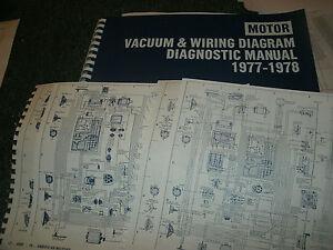 1977 1978 FORD GRANADA MERCURY MONARCH WIRING VACUUM DIAGRAMS SCHEMATICS SHEETS | eBay
