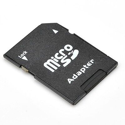 New Micro SD to SD HC SDHC Memory Card Adapter TF Reader ...