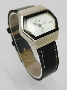 BEAUTIFUL QMAX CRYSTAL LADIES QUARTZ WATCH **NEW BATTERY ...