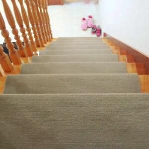Set Of 13 Non Slip Carpet Stair Treads 9 5 X 21 7 Rugs For | Carpet Stair Treads Near Me | Flooring | Stair Runner | True Bullnose | Indoor Stair | Non Slip