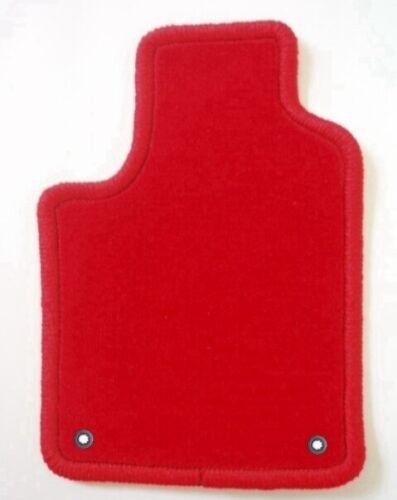 tapis de sol pour l habitacle des automobiles audi q3 10 11 4 tapis en velours rouge clip neohost