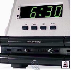 Alarm Smell Sound Wake Up Clock 4 Types