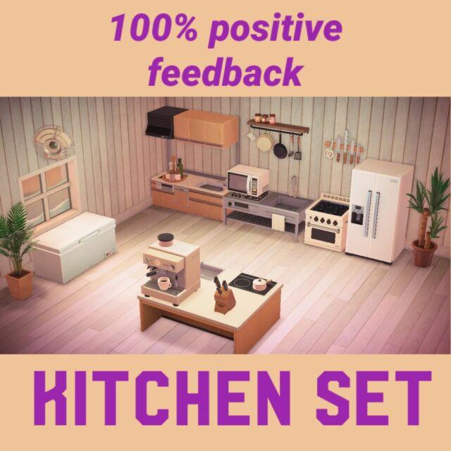 Animal Crossing Kitchen Set | eBay on Kitchen Items Animal Crossing  id=58647