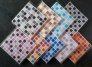details about 30 mosaic tile stickers tile transfers bathroom kitchen ensuite self adhesive