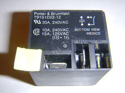 Potter Amp Brumfield T91s1d22 12 Relay