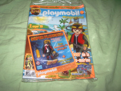 jouets et jeux playmobil magazine france belgique edition boy girl super 4 neuf one20pub
