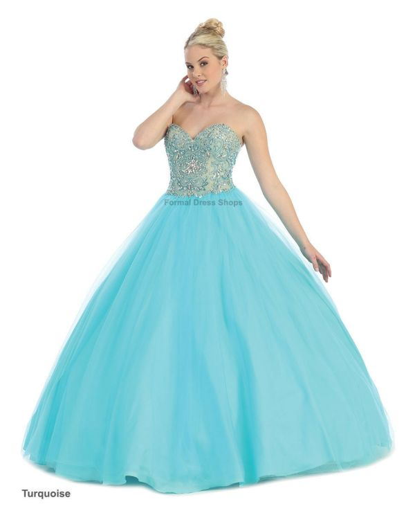 SALE ! QUINCEANERA PROM SWEET 16 BALL GOWN PAGEANT ...